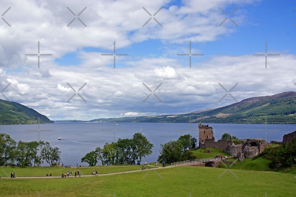 Loch Ness & Urquart Castle by Steven Guy