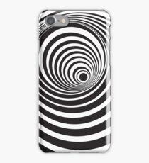 Black & White Optical Art iPhone Case/Skin