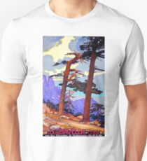 Corsica, Mediterranean Sea, France, vintage travel poster T-Shirt