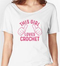 This Girl Loves Crochet Women's Relaxed Fit T-Shirt