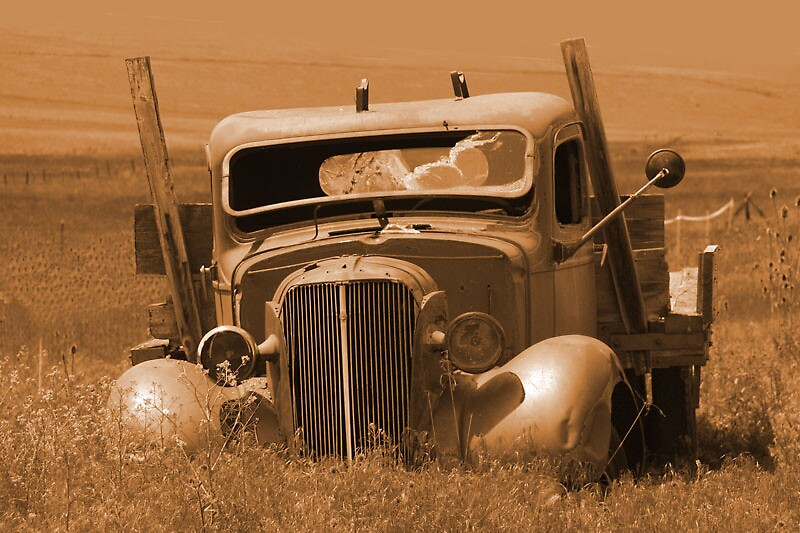 Old Oregon Truck by Dudley