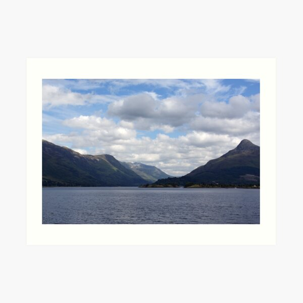 The Pap of Glencoe Art Print