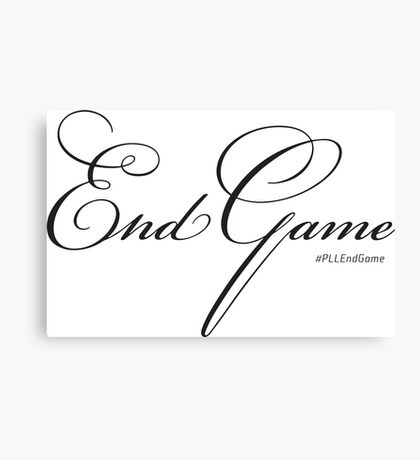 PLL EndGame Canvas Print
