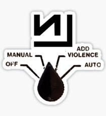 Nine Inch Nails - Add Violence Sticker