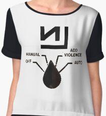 Nine Inch Nails - Add Violence Chiffon Top