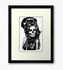 Dead Famous Amy Framed Print