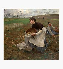 October 1878 Jules Bastie Lepage Photographic Print