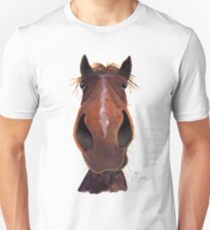 Happy Horse ' LUCKY JIM ' by Shirley MacArthur T-Shirt