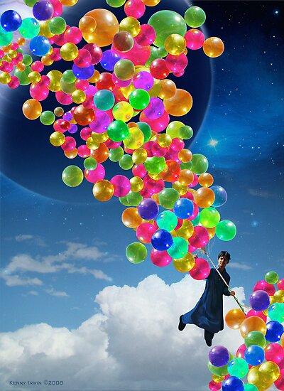 Qalander, The Extrasolar Balloon Wala by Kenny Irwin