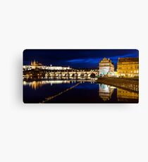 Prague Castle, Charles Bridge Canvas Print