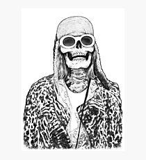 Dead Famous Kurt Photographic Print