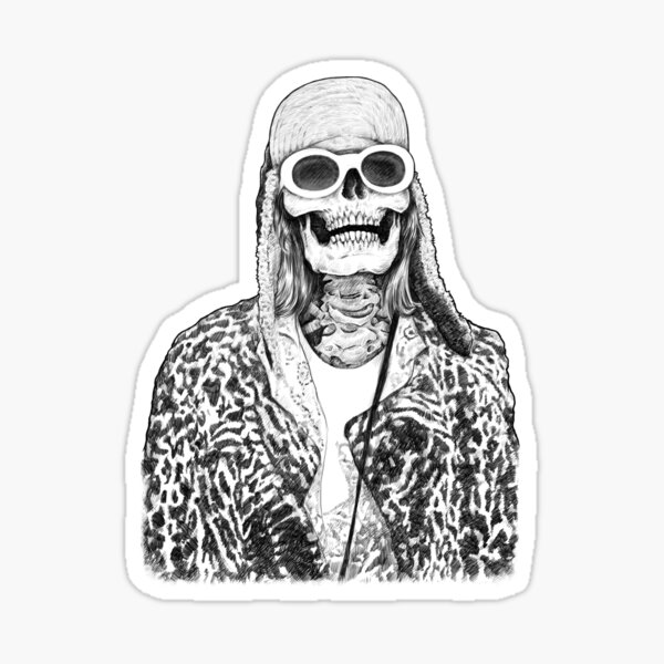 Dead Famous Kurt Sticker