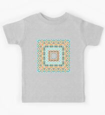 Ethnic seamless pattern with triangle and abstract geometric ornament Kids Clothes