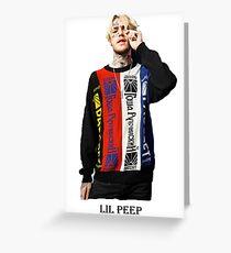Lil Peep Greeting Card