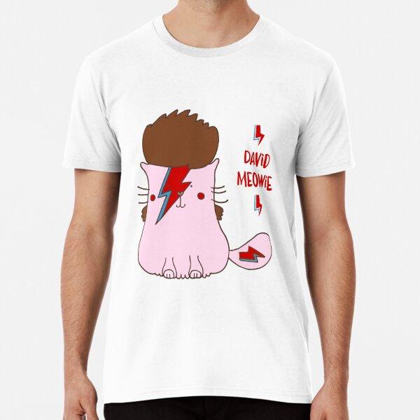 David Meowie Premium T-Shirt