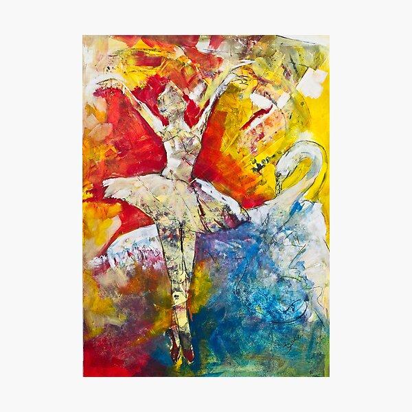 Ballet Dancer Swan Lake Fotodruck