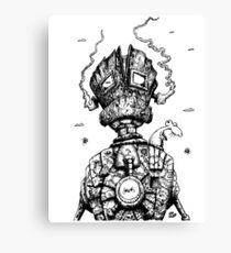 The Ghost in the Machine Canvas Print