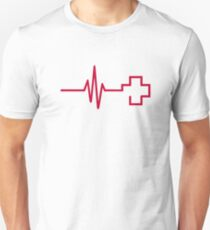 Frequency red cross T-Shirt