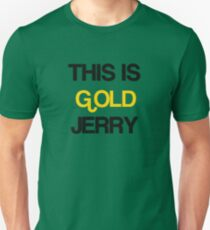 Gold Jerry Seinfeld Quotes Tv Show T-Shirt