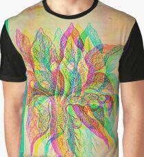 Mandragora Engraving Glitch Version Graphic T-Shirt