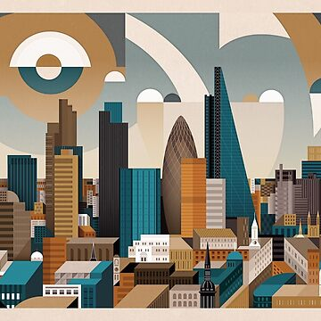 City Of London by Brumhaus