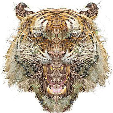 Savage Tiger ROAR by savage-wear