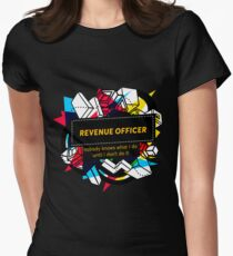 REVENUE OFFICER Women's Fitted T-Shirt