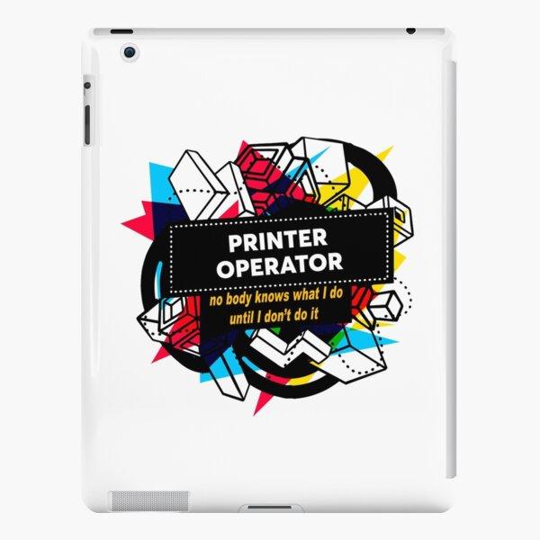 PRINTER OPERATOR iPad Snap Case