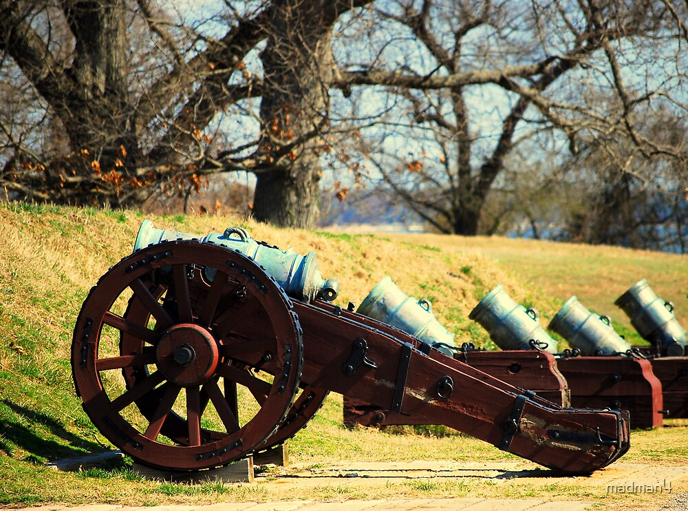We Mean Business (Historic Cannons) by madman4