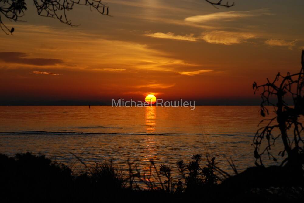 Sunset 3  by Michael Rowley