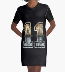 Stranger Things 11 Logo Graphic T-Shirt Dress
