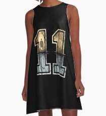 Stranger Things 11 Logo A-Line Dress