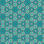 GREEN ABSTRACT PATTERN by GloriaSanchez