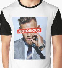 Conor McGregor NOTORIOUS Graphic T-Shirt