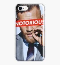 Conor McGregor NOTORIOUS iPhone Case/Skin