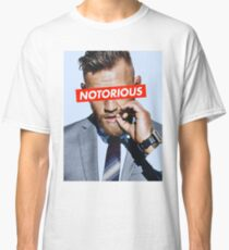 Conor McGregor NOTORIOUS Classic T-Shirt