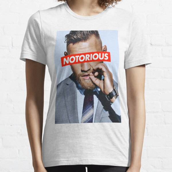 Conor McGregor NOTORIOSO Camiseta esencial