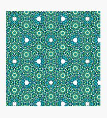 ABSTRACT FLORAL PATTERN Photographic Print