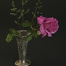 Rose and Pillbox by Gilberte