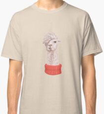 Llama Hipster Classic T-Shirt