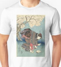 Stormy Day by the Sumida River II T-Shirt