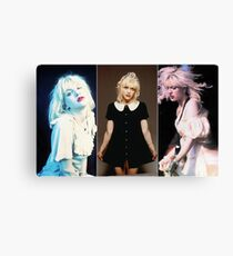 Courtney triptych  Canvas Print