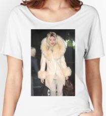 Pete Burns in fur Women's Relaxed Fit T-Shirt