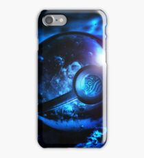 Pokemon Blue Poke Ball Collection iPhone Case/Skin