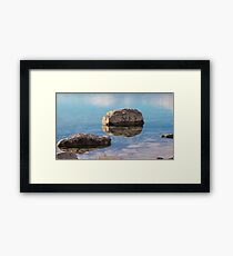 Lake Tekapo - Smooth Reflection Framed Print