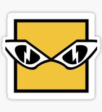 R6 IQ Icon Sticker