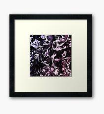 Spray Paint Pattern Texture Design Framed Print