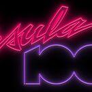 Ursula 1000: Neon Logo by brianhillDESIGN