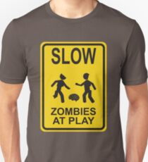 Slow Zombies At Play T-Shirt