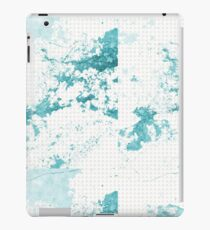 Blue Marble and Pattern iPad Case/Skin